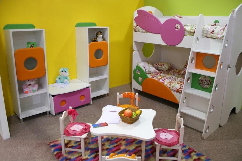 Garage into kids room